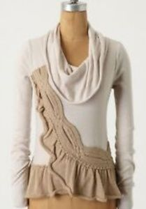 Anthropologie Moth Switching Sides Sweater M
